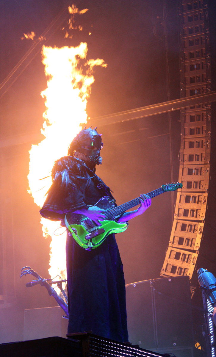 John 5, guitarist for Rob Zombie
